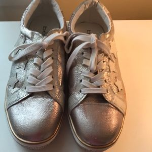 Bebe Sport metallic sneakers